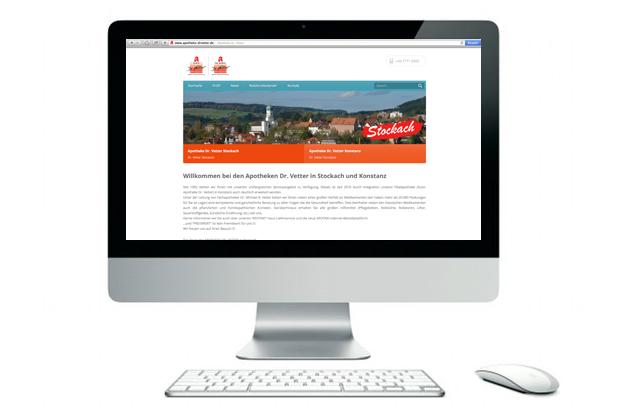 Neuer Internetauftritt Apotheken Dr. Vetter